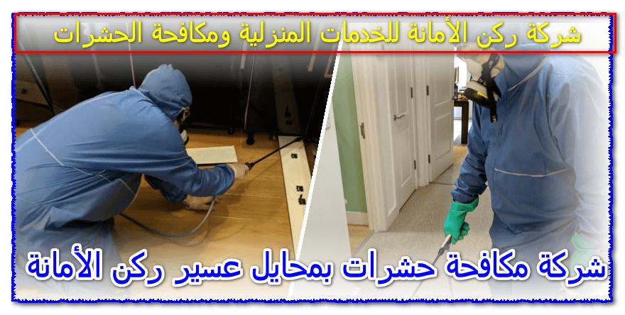 Photo of شركة مكافحة حشرات بمحايل عسير – 0535304912 مع الضمان وخصومات 30%