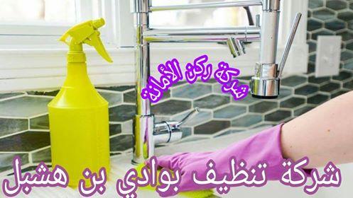 شركة تنظيف بوادي ابن هشبل