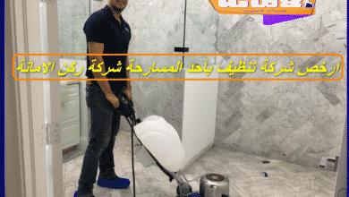 شركة تنظيف بأحد المسارحة